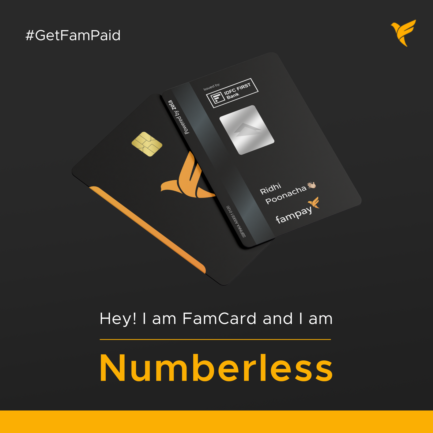 Everything you need to know about our Numberless Card! 💳